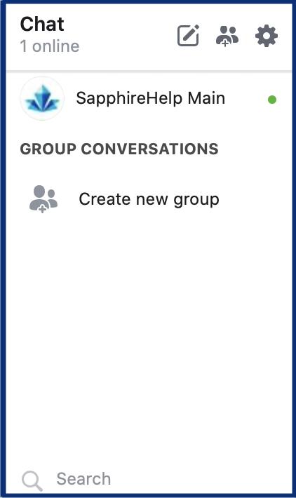 An online contact