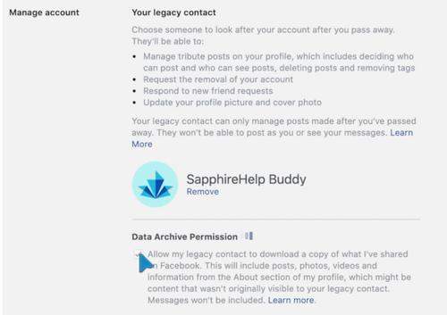 Data Archive Permission