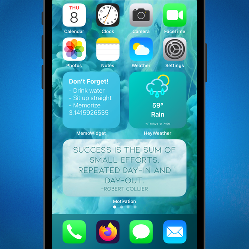 Home Screen Widgets