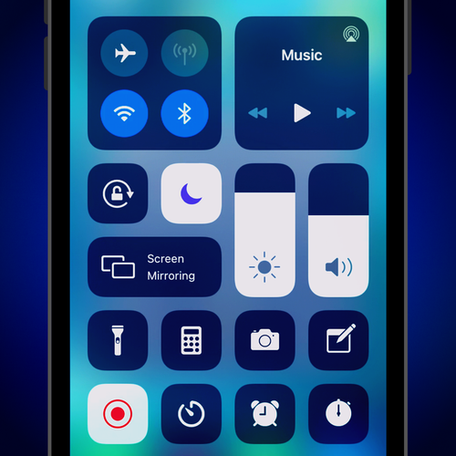 Make your Control Center like a personalize remote control